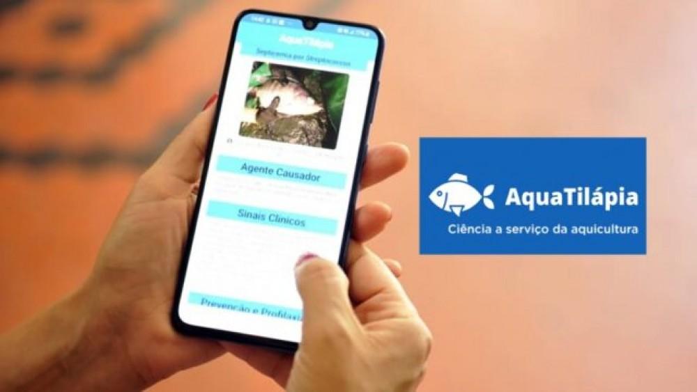 Aplicativo gratuito apresenta informações sobre doenças em tilápias