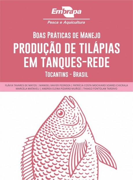 Manejo de tilápia em tanques-rede no Tocantins é abordado em publicação