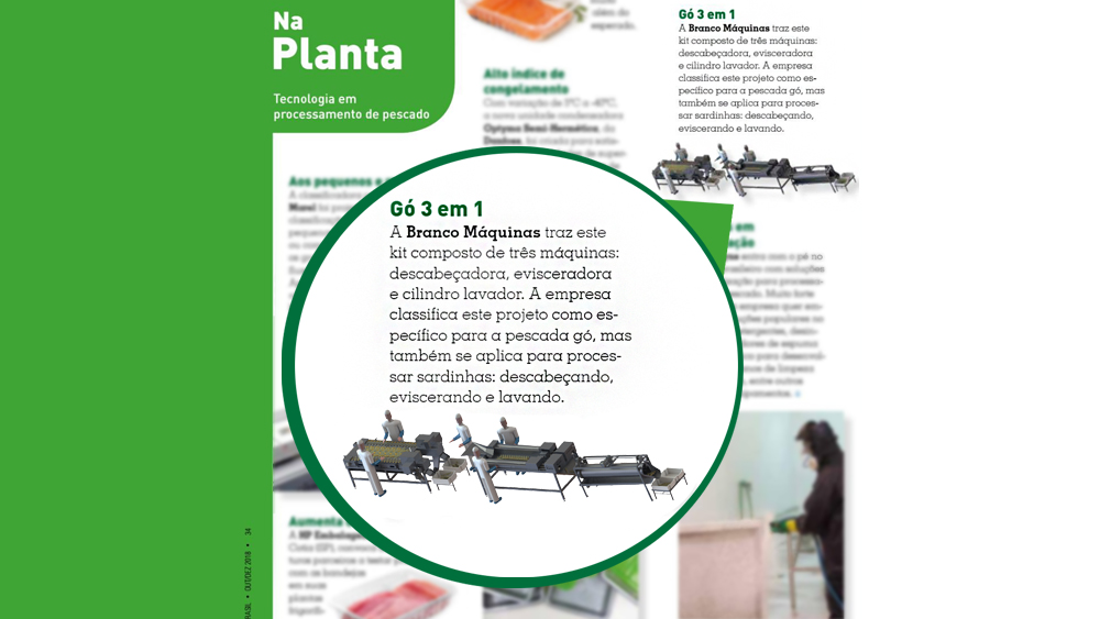Venha conferir a Revista Seafood Brasil sobre o nosso lançamento!